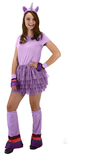 My Furry Costume (Elope My Little Pony Twilight Sparkle Purple Costume Headband Ears Horn)