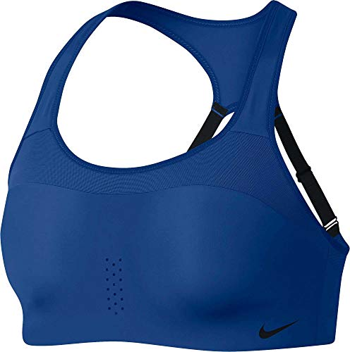Nike Women's Alpha Dri-FIT Sports Bra Blue AJ0340 438 (S A/C) ()