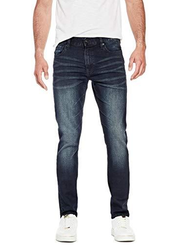 c59ac0c4 Guess Factory Men's Delmar Slim Straight Jeans