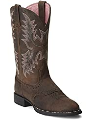 Ariat Womens Heritage Stockman Western Boot