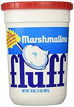 Fluff, Marshmallow Spread, 16 OZ (Pack of 12) by Fluff