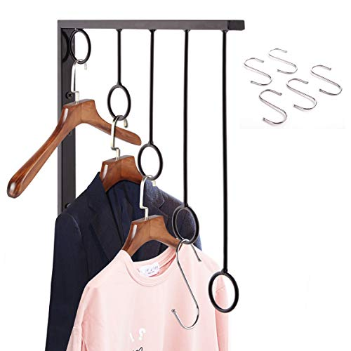 OKOMATCH Clothes Hanger Wall Mounted Clothing Organizer/Dryi