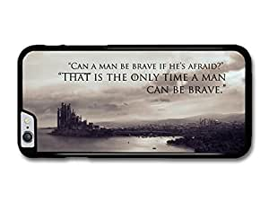 """AMAF ? Accessories Game Of Thrones House Stark Targaryen Lannister Quote Be Brave case for iPhone 6 Plus (5.5"""")"""