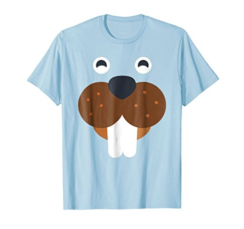 Cute Beaver Animal Costume, Funny Halloween T-Shirt