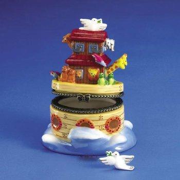 (Rite Lite HB-21 Noahs Ark Hinged Box - Dove Treasure - Pack Of 3)