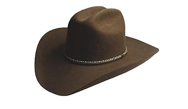 562587553f1a6 Amazon.com  Silverado Hats WINCHESTER 2X Wool Felt Cattleman Crown Western  Cowboy Hat  Clothing
