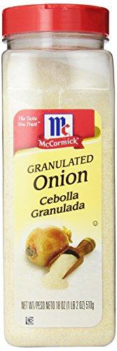 McCormick Granulated Onion, 18-Ounce