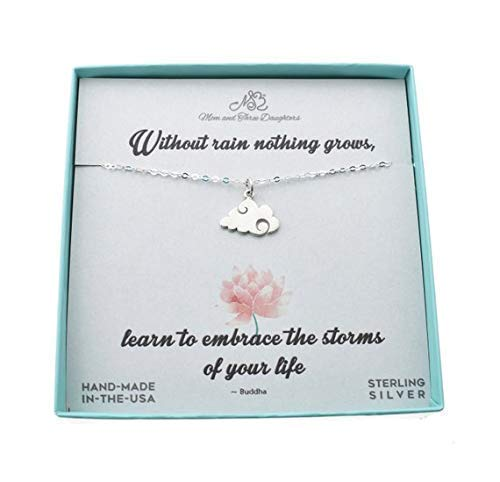 Teen/'s or Woman/'s sisters charm pendant in sterling silver on an 18 sterling silver cable chain Gift for Sister Girl/'s Sister gifts.