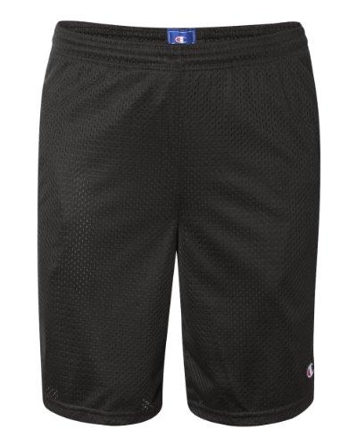 Champion Men's Long Mesh Short With - Basketball Shorts Cloth