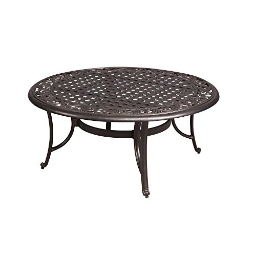 Hampton Bay Edington 42 in. Round Patio Coffee Table
