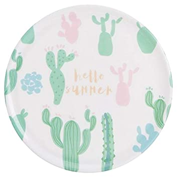 KITCHY 1pcs Multi-Grade Melamine Kitchen Heat Pad Resistance Porcelain Pot Mat Bowls Mat Coasters Doily Placemat: 04