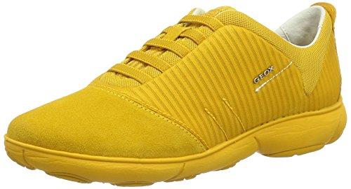 Damen Dk Yellowc2006 Gelb Sneakers G D Nebula Geox U8qzH6w
