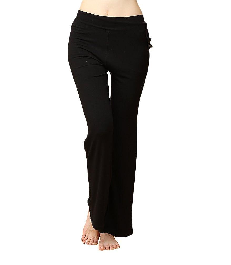 Baymate Moda Casual Harem Pantalones Modal Danza Pantalón para Mujeres