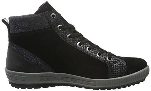 Legero Tanaro, Sneaker Alte Donna Nero (Nero (Nero 00))