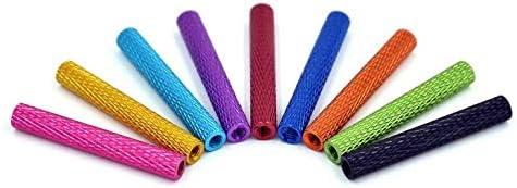 Color: Red 35mm Parts /& Accessories 10pcs M3 Aluminum Column 25mm 30mm 35mm Round Aluminum Alloy Pillar Standoff Spacer Fastener Anti-Slip for RC