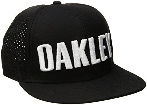 Oakley Men's Perf Hat, Blackout, One Size