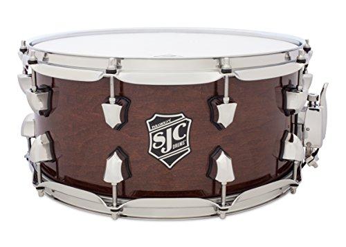 SJC Custom Drums PM-S6514CH-WTHG Paramount Series 6.5x14