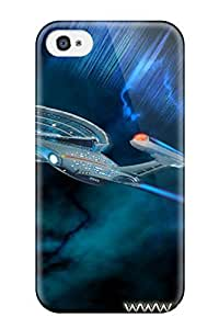 linfenglinForever Collectibles Attractive Legacy Of The Enterprise Star Trek Hard Snap-on Iphone 4/4s Case