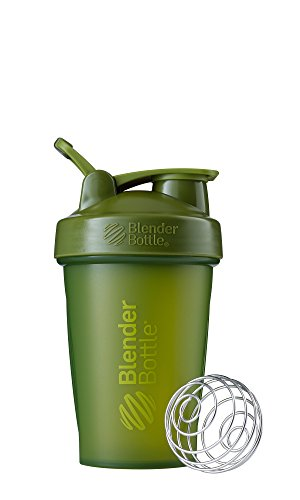 BlenderBottle C01621 Classic Loop Top Shaker Bottle 20-Ounce Moss Green