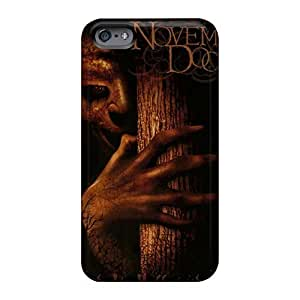 Perfect Hard Phone Case For Iphone 6plus (pSv16581PkWa) Allow Personal Design Colorful Novembers Doom Band Image