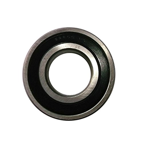 10pcs Single Row Deep Groove Miniature Ball Bearings Double Rubber Shielded 6mm Bore, 19mm OD,6mm Width
