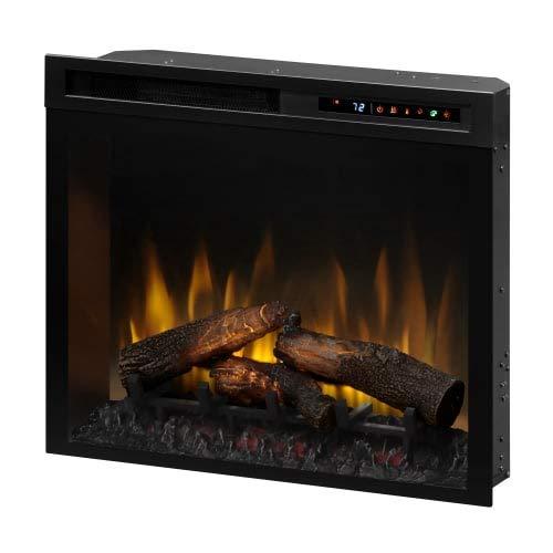 - DIMPLEX Multi-Fire XHD Firebox with Logs Black XHD28L