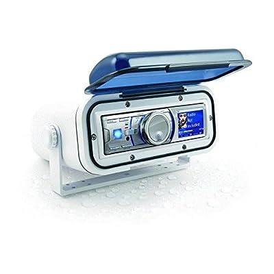 Metra 99-9006 White Marine Radio Housing - Universal