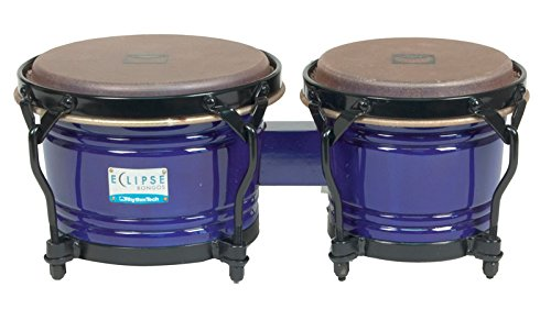RhythmTech RT5604 Eclipse Bongos Percussion Sound Effects, Blue ()
