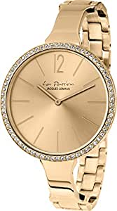 Jacques Lemans Women's Casual Watch Stainless Steel Strap - LP-116C