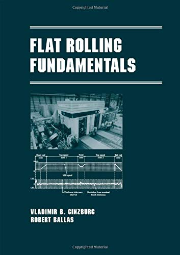Flat Rolling Fundamentals  Manufacturing Engineering And Materials Processing