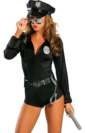Female Cop Couples Halloween Costume