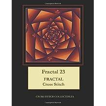 Fractal 23: Fractal Cross Stitch Pattern
