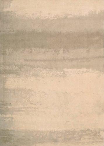 Calvin Klein Luster Wash - CK 10 Luster Wash Ivory Rug Rug Size: 4' x 6'