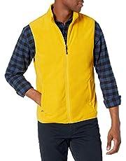 Amazon Essentials mens Full-Zip Polar Fleece Vest Fleece Vest