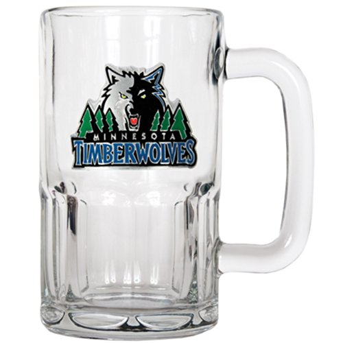 NBA Minnesota Timberwolves 20-Ounce Root Beer Style Mug - Primary (Nba Basketball Beer)