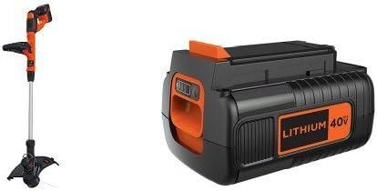 BLACK DECKER LST140C String Trimmer 40-Volt Battery Pack