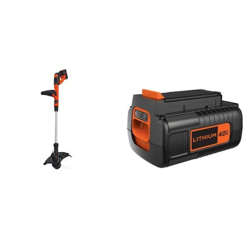 BLACK DECKER LST140C String Trimmer 40-Volt Battery Pack