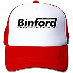 PIPI Men's Binford Tools Home Improvement TV Series Snapback Hats Red