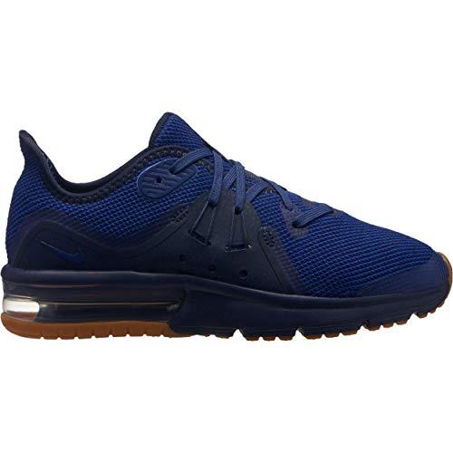 Gymnastikschuhe Sequent Air 3 Mädchen dunkelblau GS Max schwarz Nike xCqf1wYt