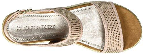 Marco Tozzi 28403, Sandalias con Cuña para Mujer Rosa (Rose 521)