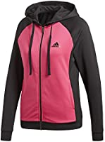 adidas WTS Hoody & Tight Tracksuit Women, Pink (magrea