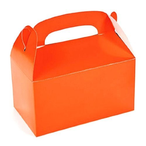 1 X Lot of 12 Orange Treat Boxes Halloween Party Favors -