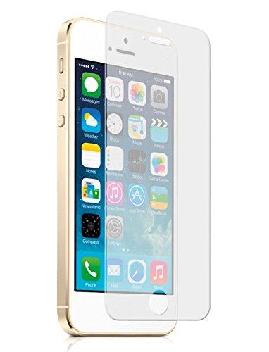 Apple iPhone 4/4S–Pellicola proteggi schermo in vetro temperato antigraffio HD trasparente infrangibile durezza 9H by KK Gadgets