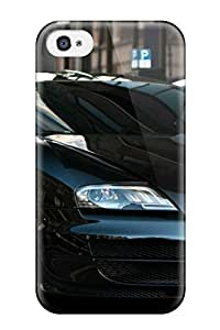 Iphone 4/4s Case, Premium Protective Case With Awesome Look - Black Car Amazing Car Photos