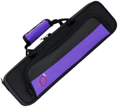 Ortola 8420 FSH - Estuche flauta travesera, color negro y morado: Amazon.es: Instrumentos musicales