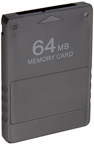 Gamilys 64 MB Memory Card  Compatible For Playstation 2