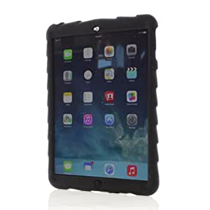 Apple iPad Air Bounce Skin Black Gumdrop Cases Silicone Rugged Shock Absorbing Protective Dual Layer Cover Case