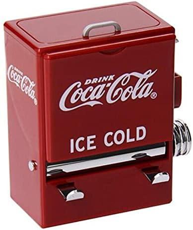 XKMY Caja organizadora de palillos de dientes, 1 unidad de color rojo, máquina expendedora, dispensador de plástico para decoración de mesa (color: FU157)