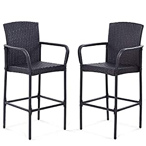 41AmGSoE2eL._SS300_ Wicker Dining Chairs & Rattan Dining Chairs