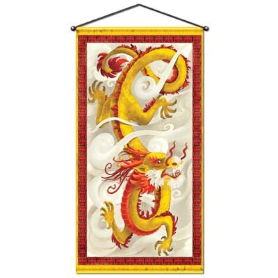 Dragon Door/Wall Panel Party Accessory (1 count) (1/Pkg)